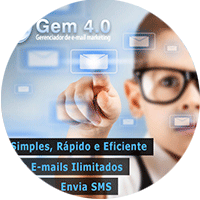 Gem 4.0 - Gerenciador de e-mail marketing